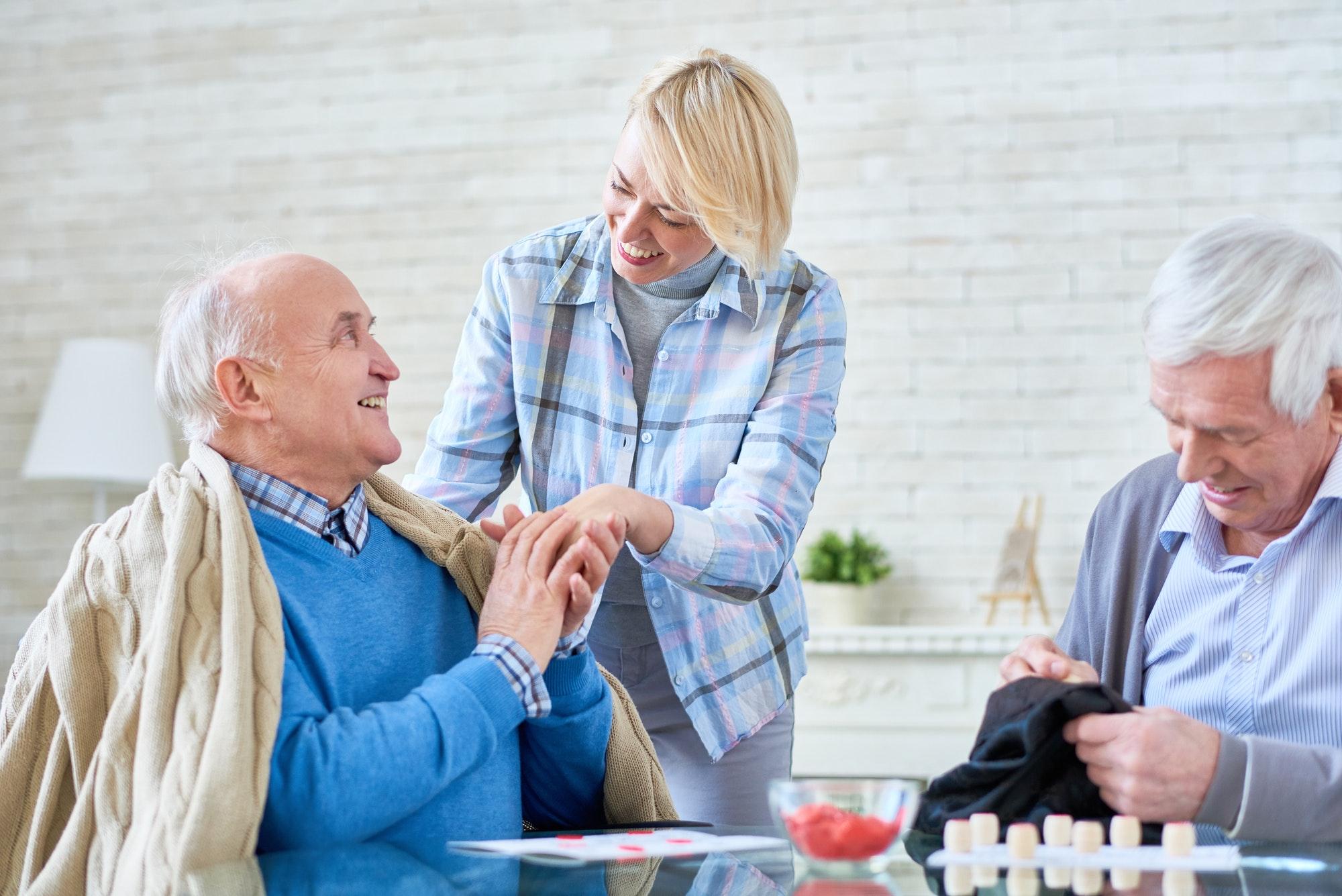 Seniors in Retirement Home